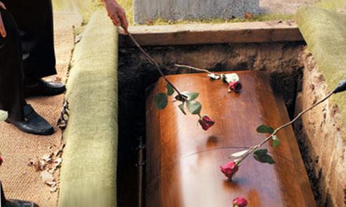гроб с сонник покойниками