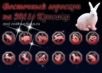 восточный гороскоп на 2011 год кролика