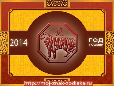 Тигр - гороскоп восточный на 2014 год Лошади