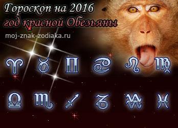 гороскопы на 2016 год красной Обезьяны