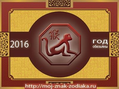 Обезьяна - гороскоп восточный на 2016 год Обезьяны