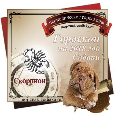 Гороскоп на 2018 год - Скорпион