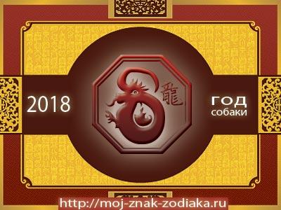 Дракон - гороскоп восточный на 2018 год Собаки