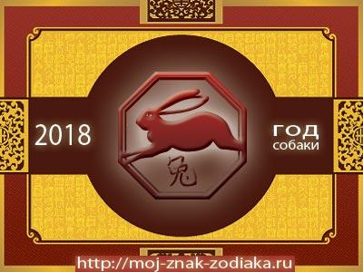 Кролик - гороскоп восточный на 2018 год Собаки