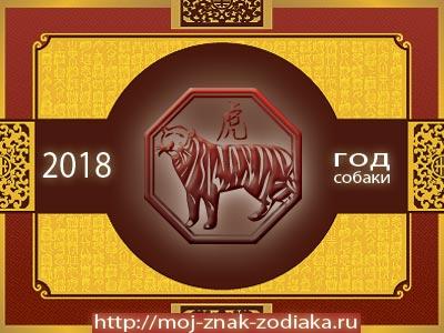 Тигр - гороскоп восточный на 2018 год Собаки